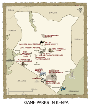 Game Parks in Kenya